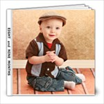 8 and 9 months - 8x8 Photo Book (20 pages)