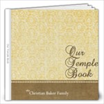 Our Temple Book - 12x12 Photo Book (20 pages)