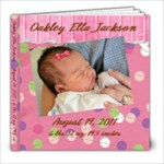 Oakley Ella Jackson 1 - 8x8 Photo Book (20 pages)