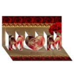 Mother Greeting Card 3D - MOM 3D Greeting Card (8x4)