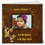 Anaya Akhani !!! - 12x12 Photo Book (20 pages)
