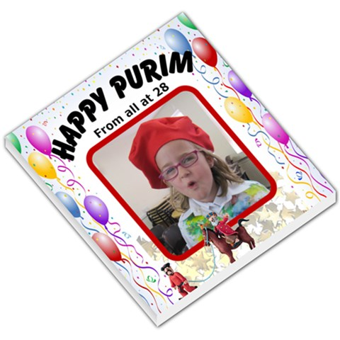 Happy Purim By Malky   Small Memo Pads   Up4risvhdzte   Www Artscow Com
