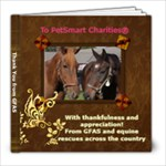 Thank You to PetSmart Charities - 8x8 Photo Book (30 pages)