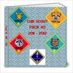 scout book 2011-2012 - 8x8 Photo Book (20 pages)