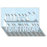 Brithday Boy - Happy Birthday 3D Greeting Card (8x4)