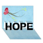Hope 3D - HOPE 3D Greeting Card (7x5)