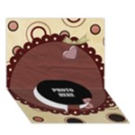 3D You ve Stolen My Heart Card 1 - Circle Bottom 3D Greeting Card (7x5)