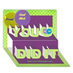 You Did it with balloons 3D card - You Did It 3D Greeting Card (7x5)