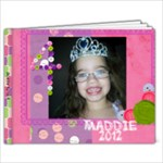 Maddie 2012 - 9x7 Photo Book (20 pages)