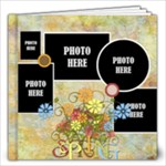 Primavera 12x12 Book - 12x12 Photo Book (20 pages)