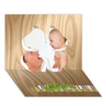 baby - Clover 3D Greeting Card (7x5)