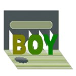 my boy - BOY 3D Greeting Card (7x5)