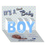 Special Delivery - It s A BOY 3d card - BOY 3D Greeting Card (7x5)