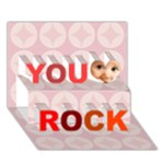 you rock - You Rock 3D Greeting Card (7x5)
