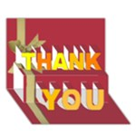 thank you - THANK YOU 3D Greeting Card (7x5)