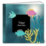 mermaid 2 - 8x8 Deluxe Photo Book (20 pages)