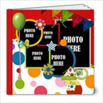 Carnival 8x8 Book - 8x8 Photo Book (20 pages)