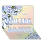 Any Purpose invitation Card 3D (7x5) - YOU ARE INVITED 3D Greeting Card (7x5)