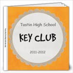 Key Club Book2 - 12x12 Photo Book (20 pages)