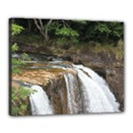 waterfall 2 16x20 stretched - Canvas 20  x 16  (Stretched)