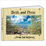 BETH AND DREW - 9x7 Photo Book (20 pages)