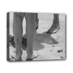 sandy legs bw - Canvas 10  x 8  (Stretched)