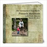 Pinnacle Mountain book - 8x8 Photo Book (20 pages)