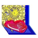 SUNSHINE CARD 2 (without any text) - Heart Bottom 3D Greeting Card (7x5)