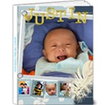 Justin - 9x12 Deluxe Photo Book (20 pages)