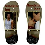 Smokin Hot Mens Flip Flops - Men s Flip Flops