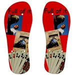 Full House Mens flip flops - Men s Flip Flops