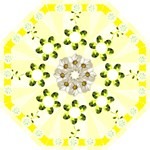 Mellow Yellow Folding Umbrella