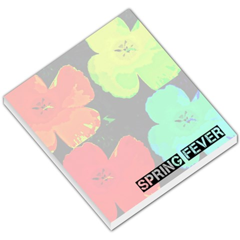 Spring Fever Memo Pad By Shanna   Small Memo Pads   0y9zpysmoaew   Www Artscow Com