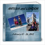 Antigua/London 2012 - 8x8 Photo Book (20 pages)