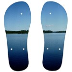 the lake  -flip flops - Men s Flip Flops