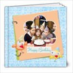 Happy Birthday 8x8 Photo Book  - 8x8 Photo Book (20 pages)