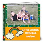 PRESCHOOL PHOTO BOOKS - 8x8 Photo Book (20 pages)