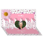 world greatest Mom 3d Card - MOM 3D Greeting Card (8x4)