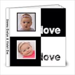 Sienna/Violet - 6x6 Photo Book (20 pages)