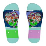 flower -flip flops (women) - Women s Flip Flops