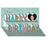 HAPPY BIRTHDAY Giovanna - Happy Birthday 3D Greeting Card (8x4)