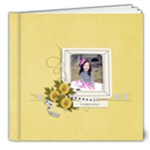 8x8 (DELUXE)- Happiness - Any Theme - 8x8 Deluxe Photo Book (20 pages)