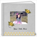12x12 (40 pages) - Happiness is YOU- multi frames - ANY THEME - 12x12 Photo Book (20 pages)