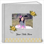 12x12 (30 pages) - Happiness is YOU- multi frames - ANY THEME - 12x12 Photo Book (20 pages)