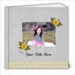 8x8 (20 pages) - Happiness is YOU- multi frames - ANY THEME - 8x8 Photo Book (20 pages)
