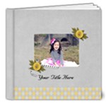 8x8 (DELUXE) - Happiness is YOU- multi frames - ANY THEME - 8x8 Deluxe Photo Book (20 pages)