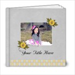 6x6 (20 pages) - Happiness is YOU- multi frames - ANY THEME - 6x6 Photo Book (20 pages)
