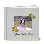 6x6 (DELUXE) - Happiness is YOU- multi frames - ANY THEME - 6x6 Deluxe Photo Book (20 pages)