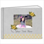9x7 (30 pages) - Happiness in YOU- multi frames - ANY THEME - 9x7 Photo Book (30 pages)