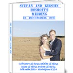 boshoff wedding - 9x12 Deluxe Photo Book (20 pages)